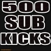 Thumbnail 500 Sub Kicks Drums Electro Hip Hop Hardstyle house wav kick