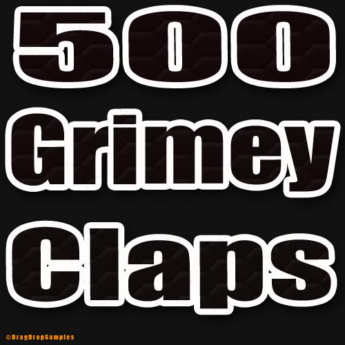 Product picture 500 Hip Hop Claps Clap drum sample fl studio cubase logic